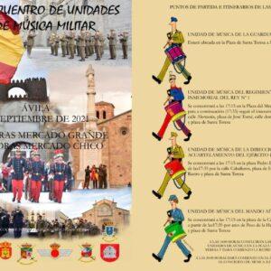 V Encuentro de Unidades de Música Militar Ávila Turismo