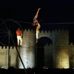 Festival Internacional de Circo de Castilla y León Ávila Turismo